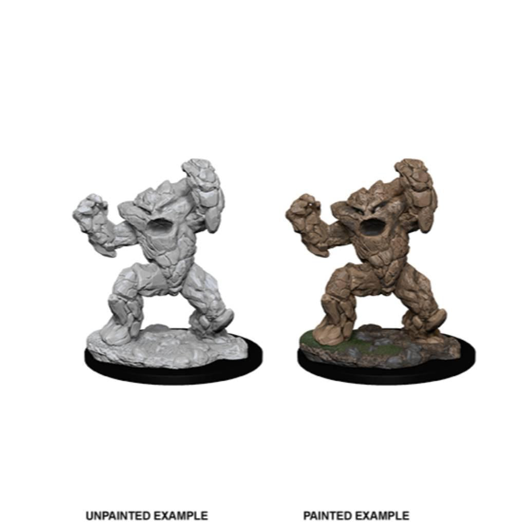WizKids Unpainted Earth Elemental