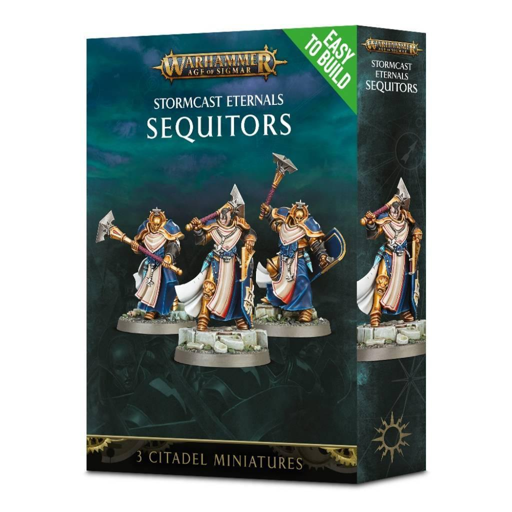 Age of Sigmar Stormcast Eternals Easy to Build Sequitors