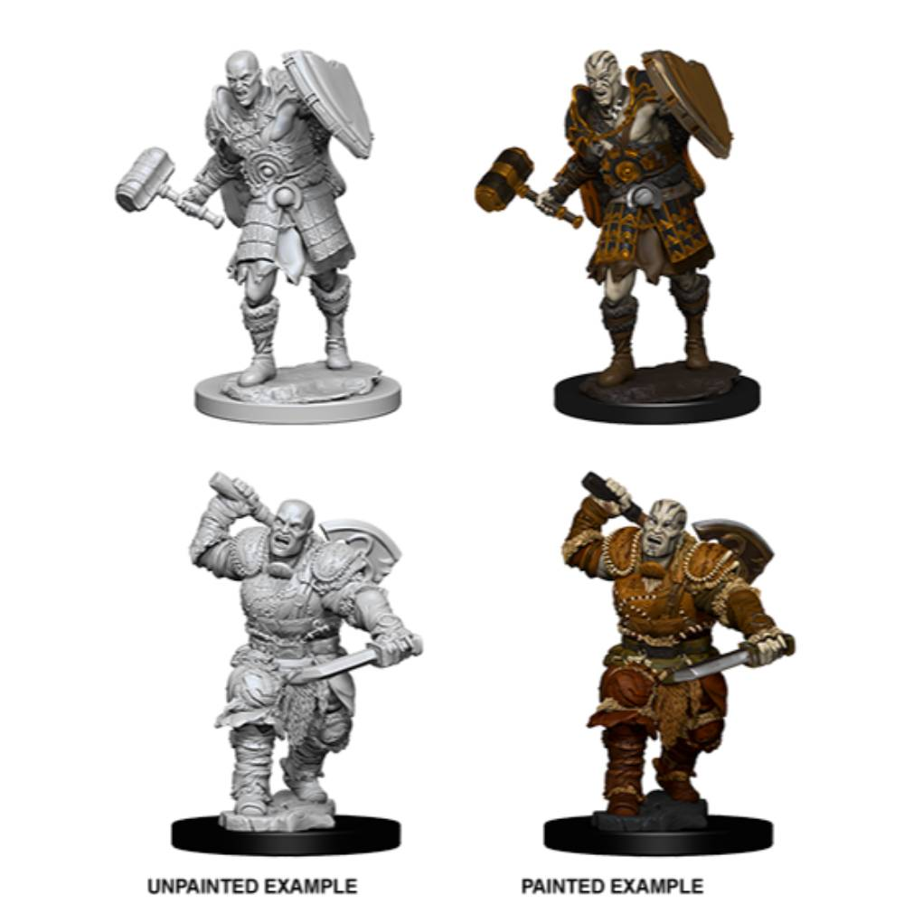 WizKids Unpainted Goliath Male Fighter (2)