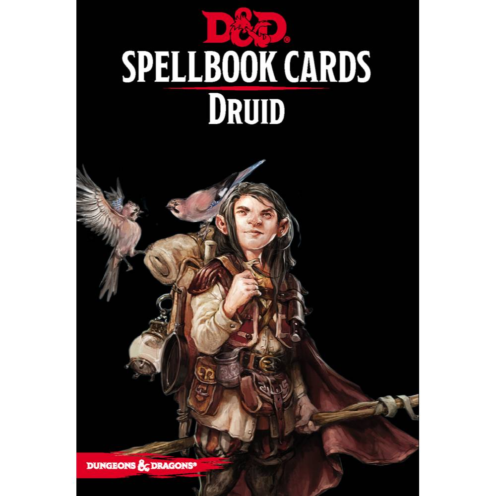 Dungeons & Dragons Spellbook Cards Druid Deck