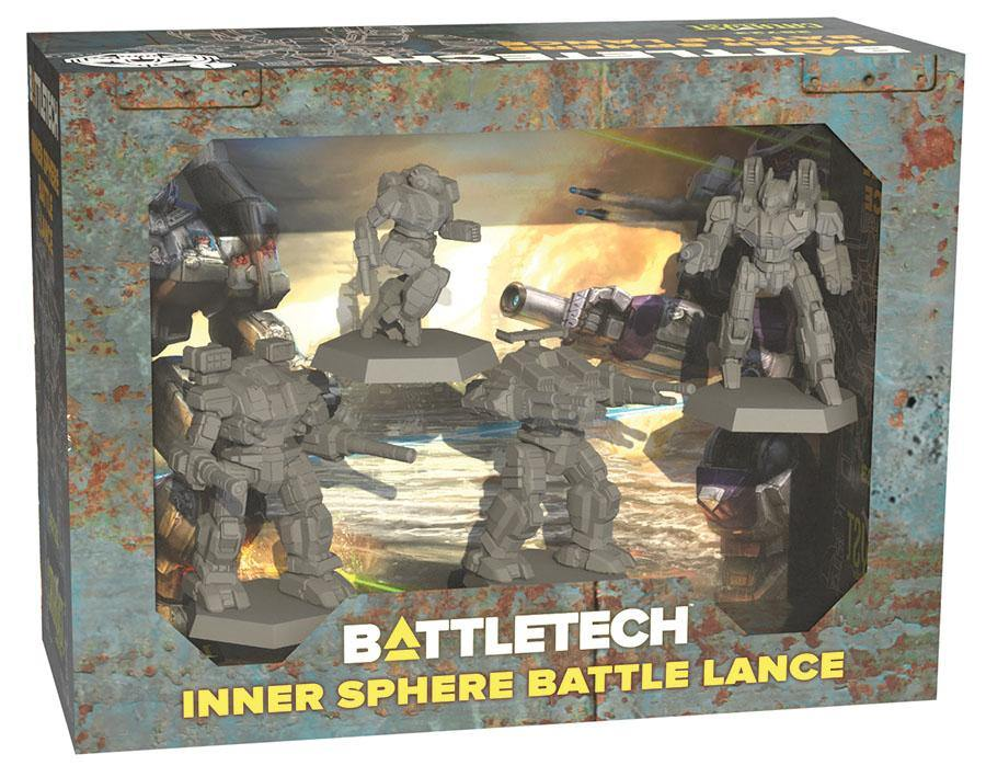 BattleTech Miniature Force Pack - Inner Sphere Battle Lance - The Haunted Game Cafe
