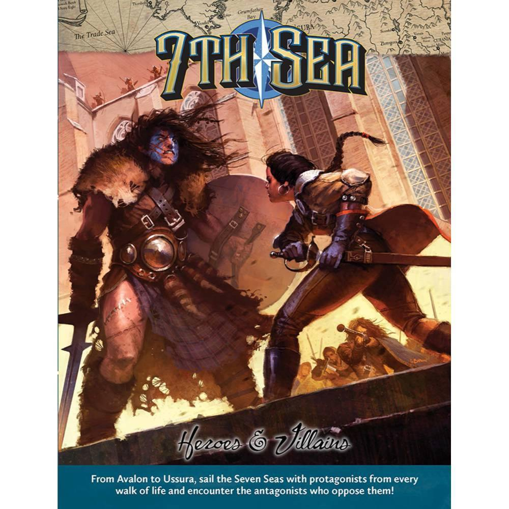 7th Sea (2nd Edition) Heroes and Villains