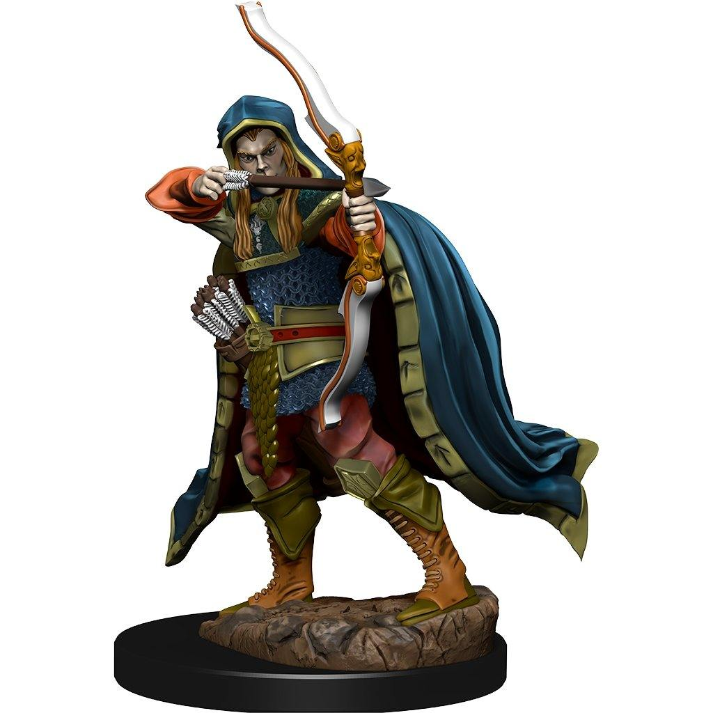 WizKids Pre-Painted D&D Icons of the Realms Premium Figure Elf Rogue (Male) - The Haunted Game Cafe