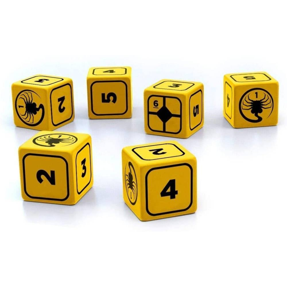 Alien RPG Stress Dice - The Haunted Game Cafe