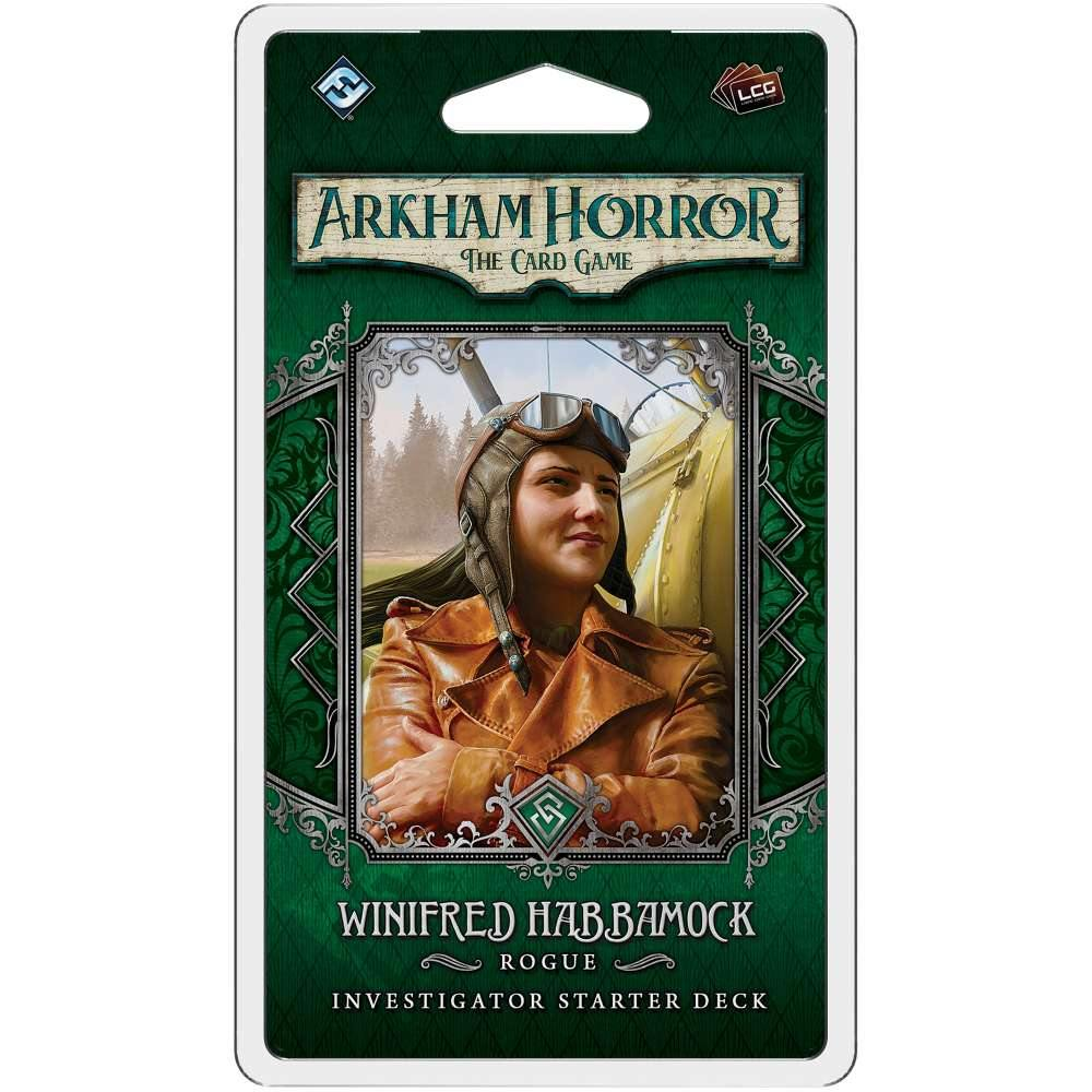 Arkham Horror The Card Game Winifred Habbamock Investigator Starter Deck