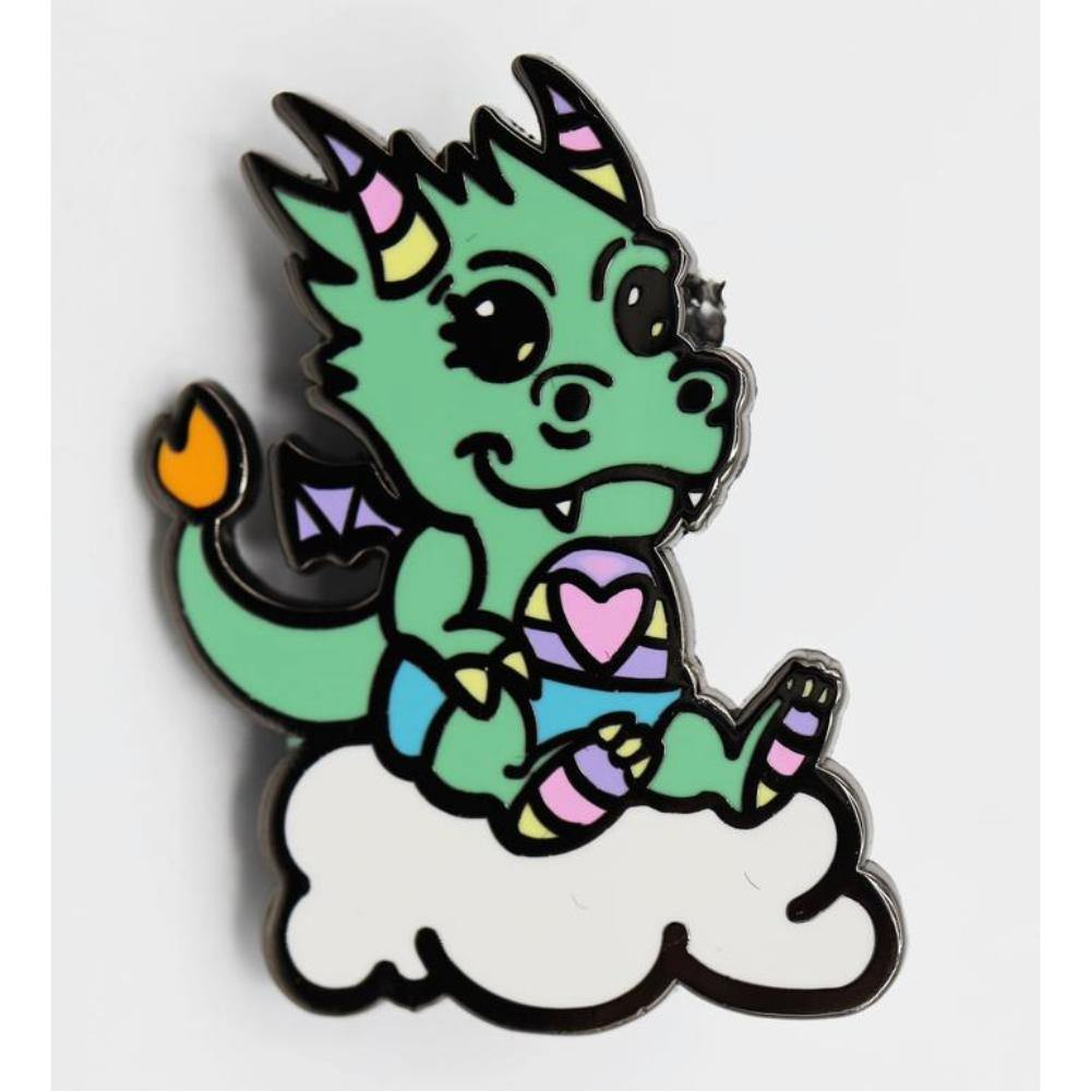 Critter Pins: Baby Dragon Monster