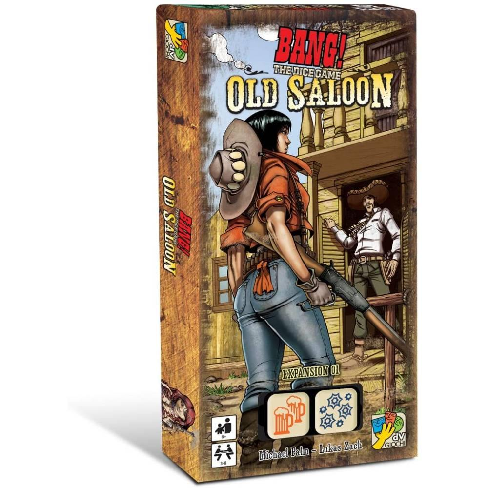 Bang! The Dice Game Old Saloon Expansion