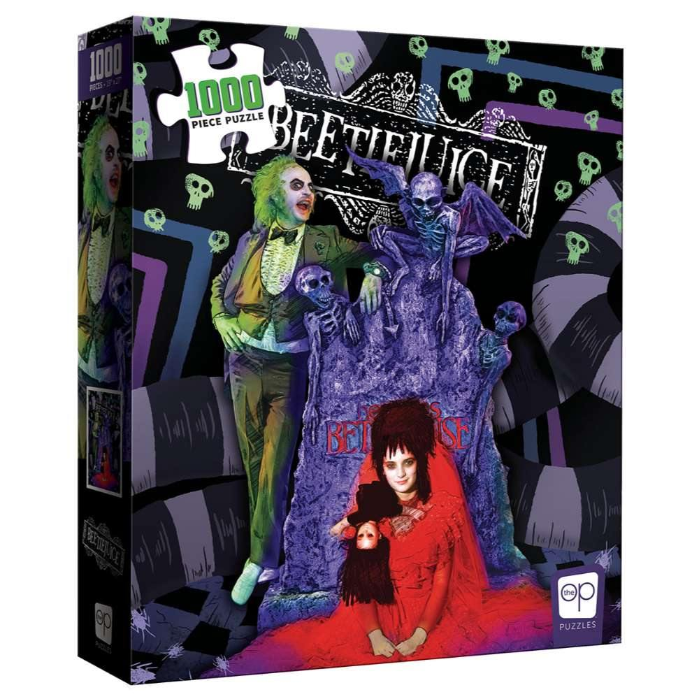 Beetlejuice Graveyard Wedding Puzzle - The Haunted Game Cafe