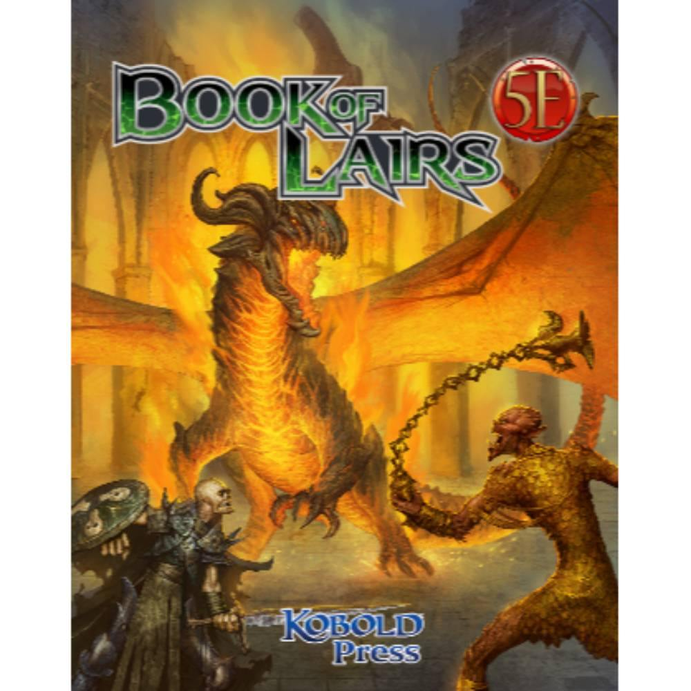 Book of Lairs for 5th Edition (Softcover)