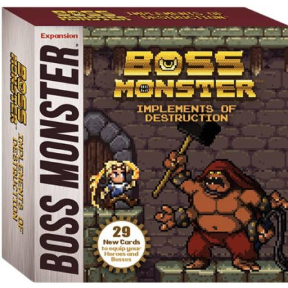 Boss Monster Implements of Destruction Expansion - The Haunted Game Cafe