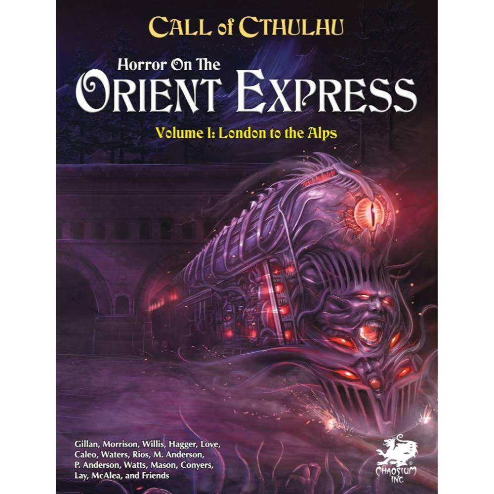 Call of Cthulhu 7th Edition Horror on the Orient Express