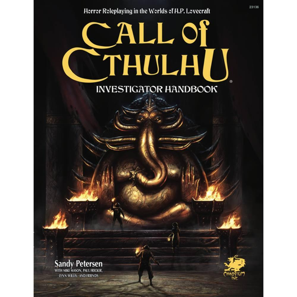 Call of Cthulhu 7th Edition Investigator Handbook
