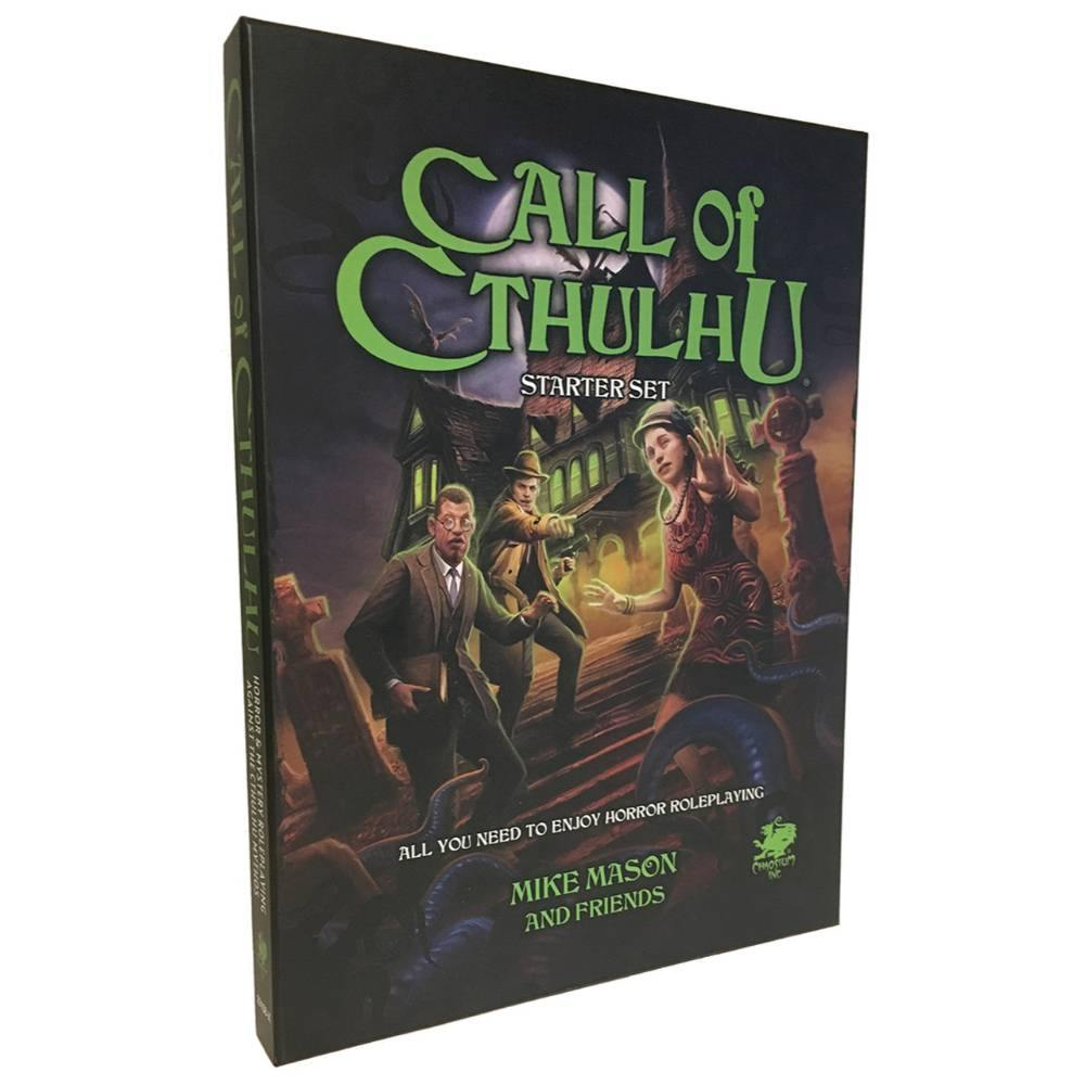 Call of Cthulhu 7th Edition Starter Set - The Haunted Game Cafe