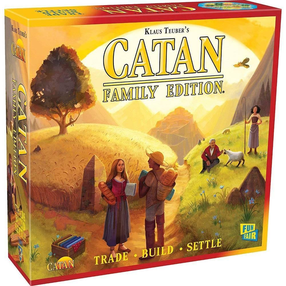 Catan Family Edition - The Haunted Game Cafe