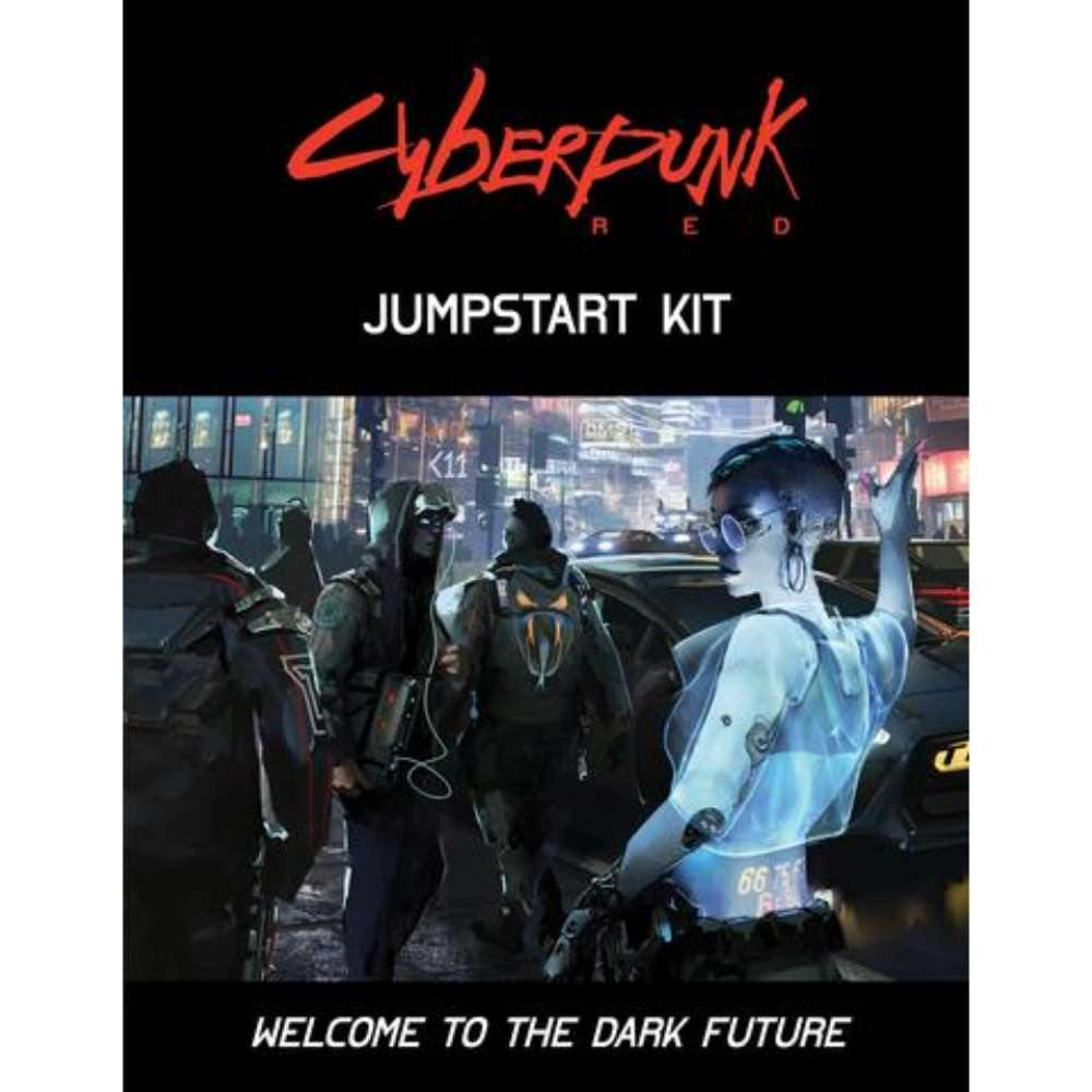 Cyberpunk Red RPG Jumpstart Kit - The Haunted Game Cafe