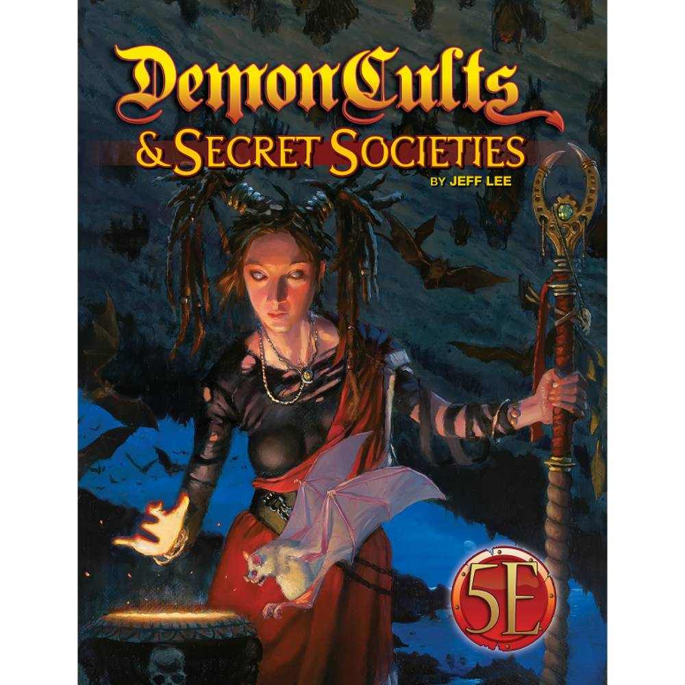 Dungeons & Dragons Demon Cults and Secret Societies
