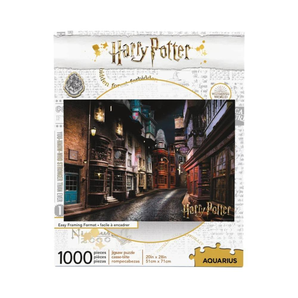 Harry Potter Diagon Alley Photographic Puzzle - The Haunted Game Cafe