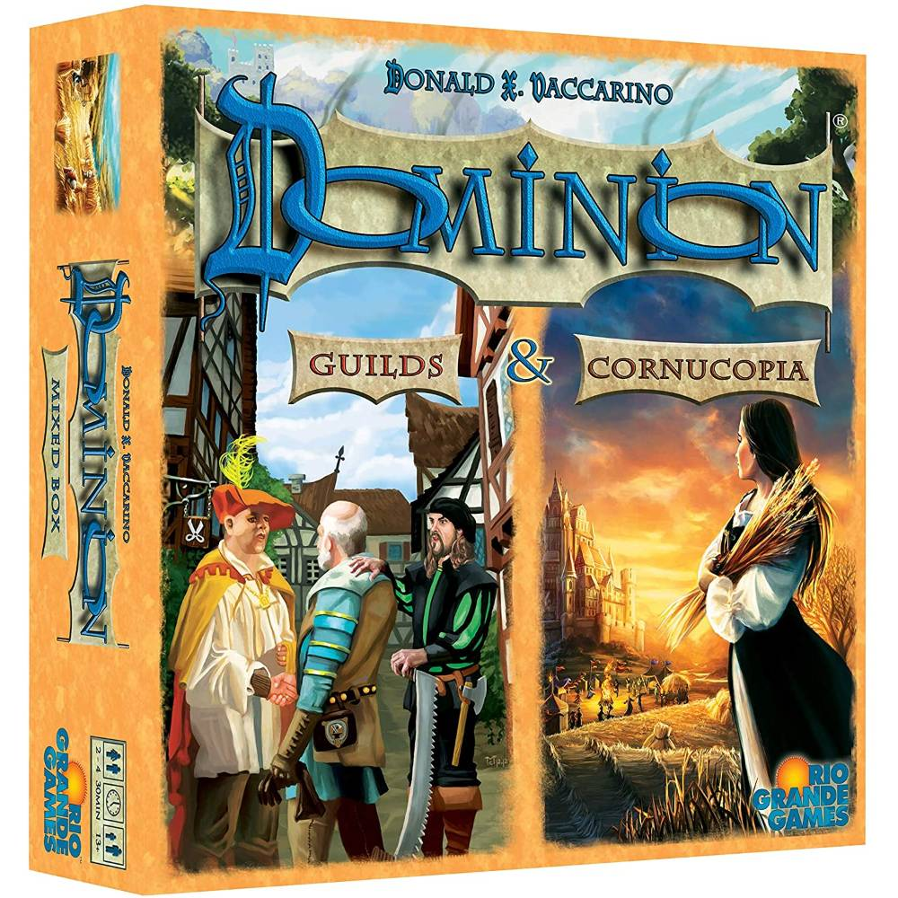 Dominion Cornucopia and Guilds Expansion