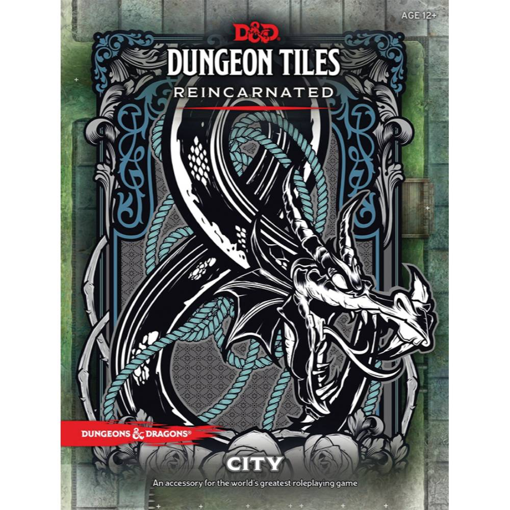 Dungeons & Dragons Dungeon Tiles Reincarnated - City