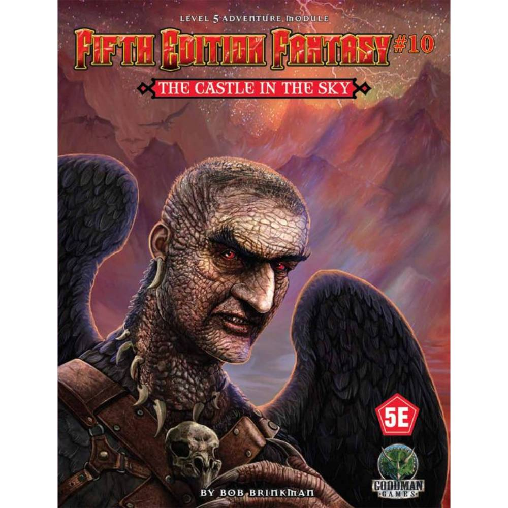 Fifth Edition Fantasy 10 The Castle in the Sky