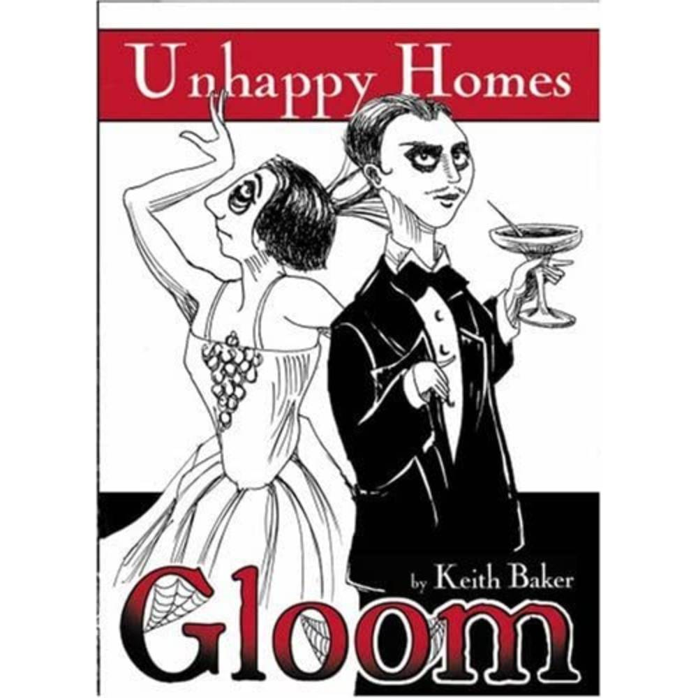 Gloom Card Game Unhappy Homes Expansion