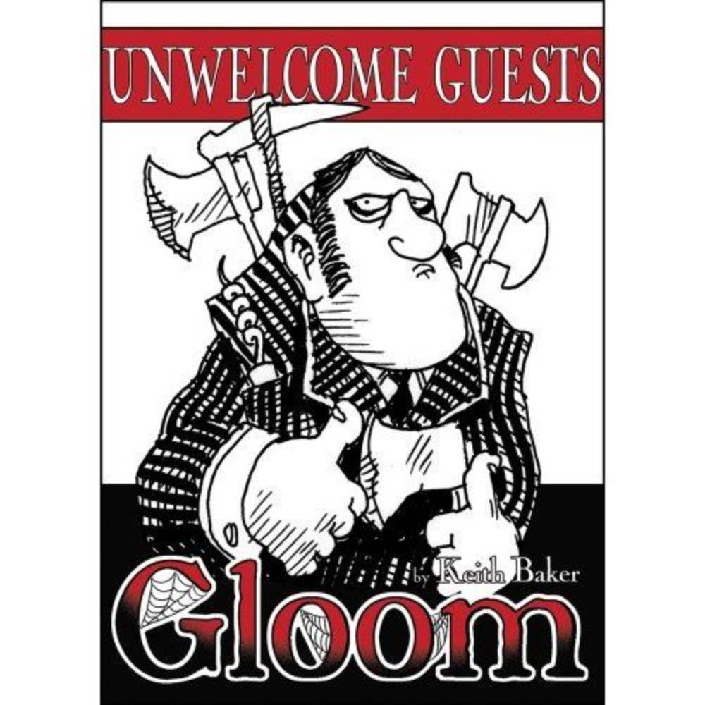 Gloom Card Game Unwelcome Guests Expansion