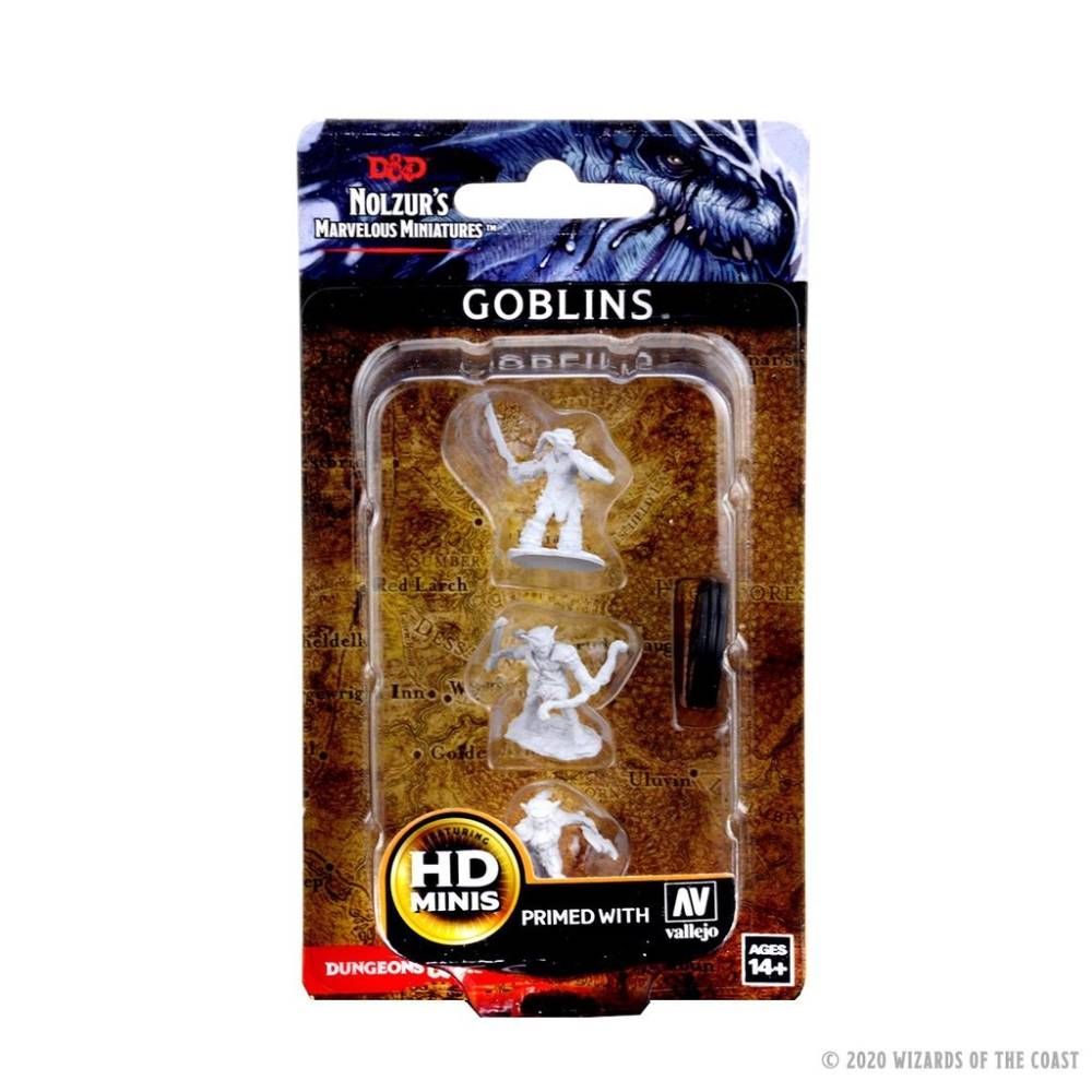 WizKids Unpainted Goblins (3) (version 1)