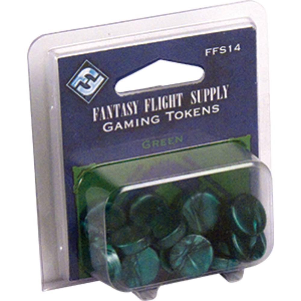 Fantasy Flight Gaming Tokens Green (20) - The Haunted Game Cafe