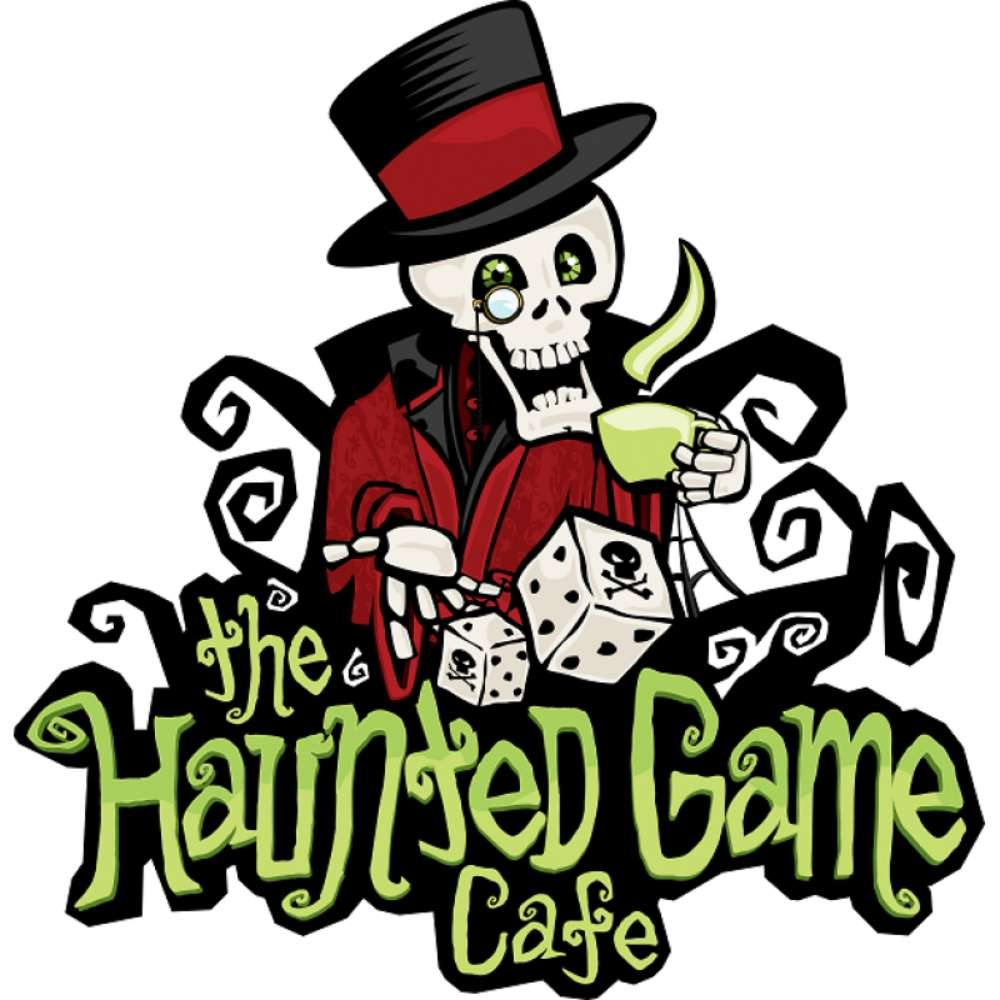 Haunted Game Cafe Logo T-Shirt - The Haunted Game Cafe