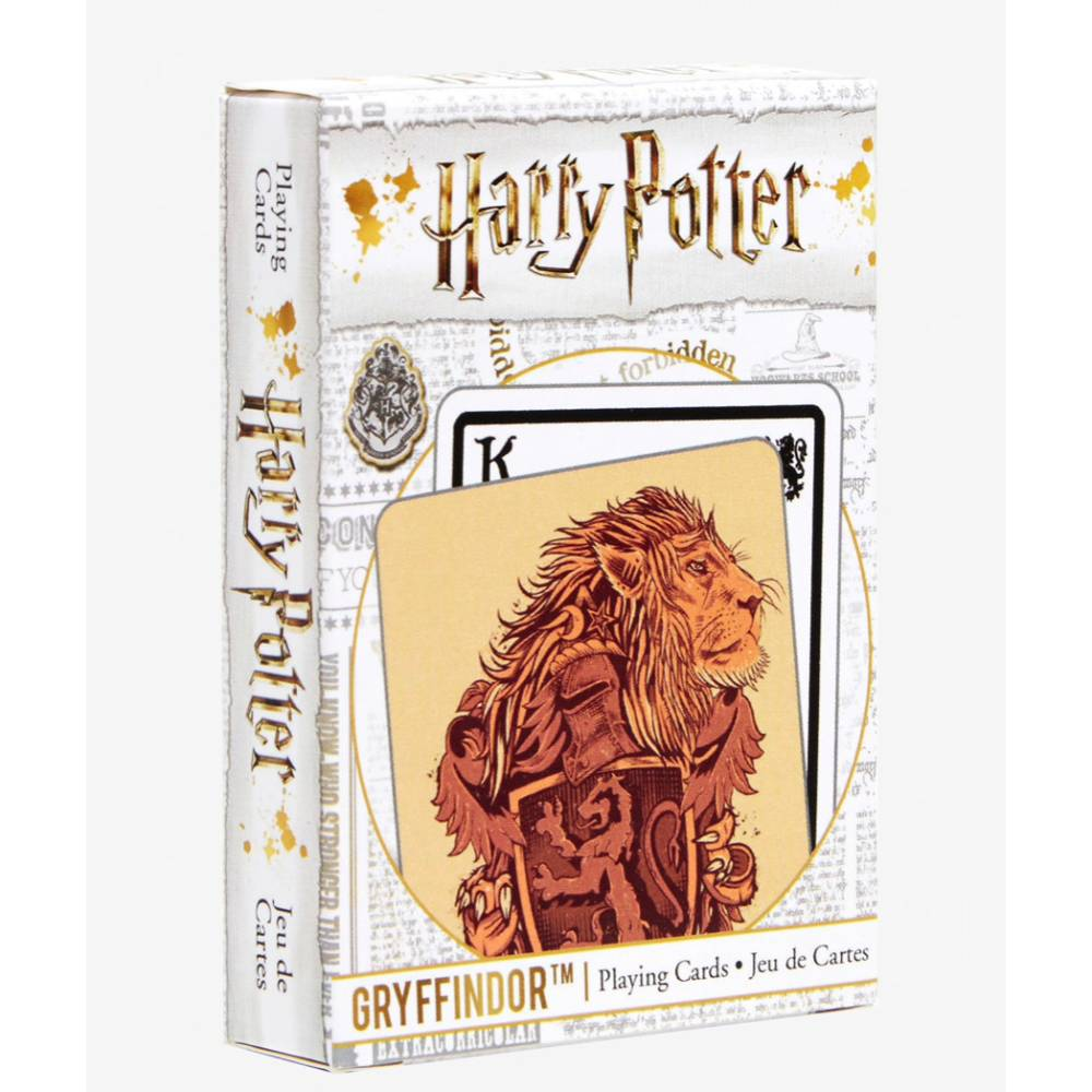 Harry Potter Playing Cards House Crests Gryffindor