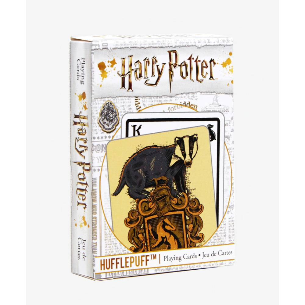 Harry Potter Playing Cards House Crests Hufflepuff