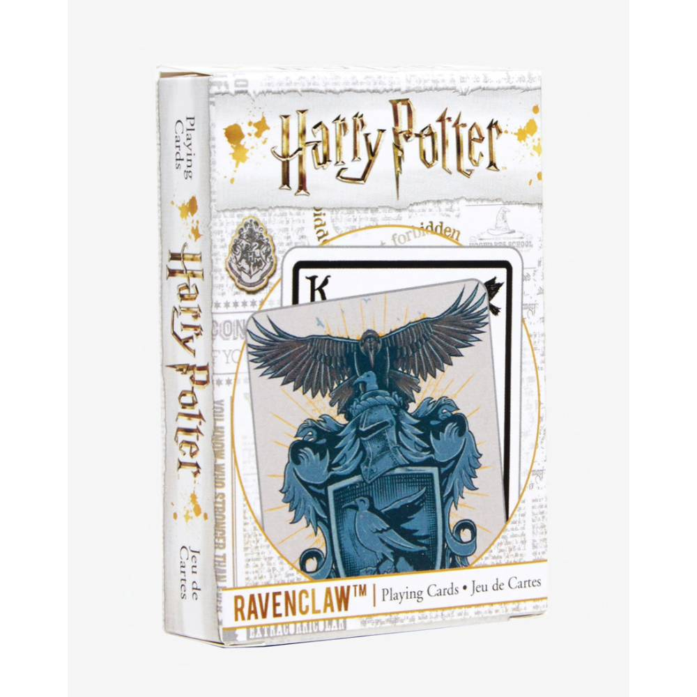 Harry Potter Playing Cards House Crests Ravenclaw