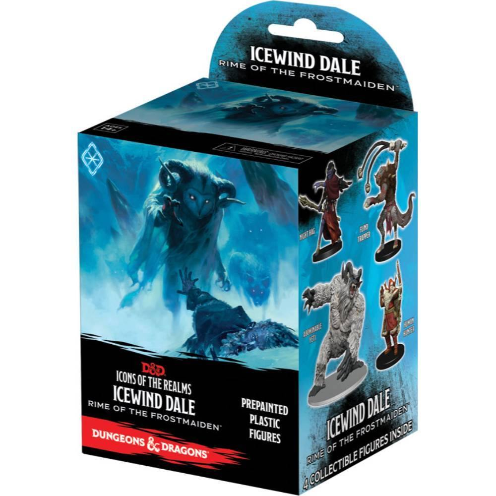 Dungeons & Dragons Fantasy Miniatures: Icons of the Realms: Icewind Dale Rime of the Frostmaiden Booster