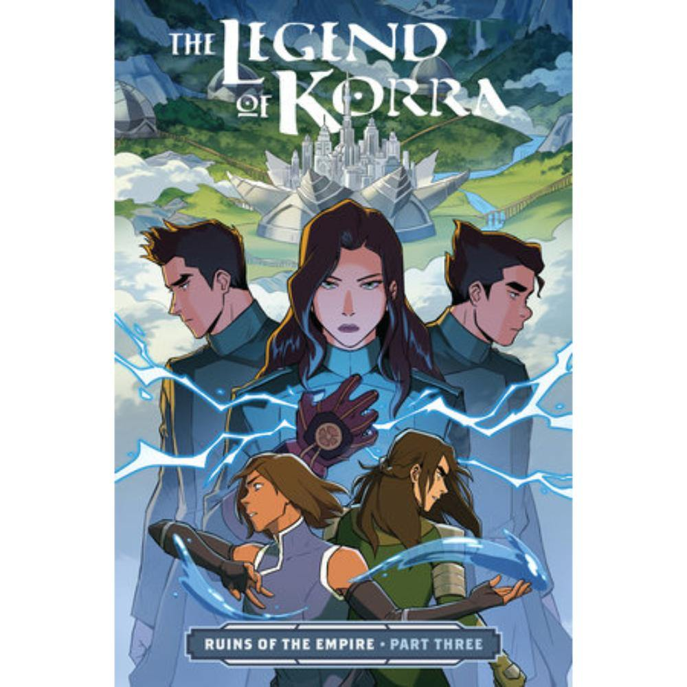 The Legend of Korra Ruins of the Empire Part 3