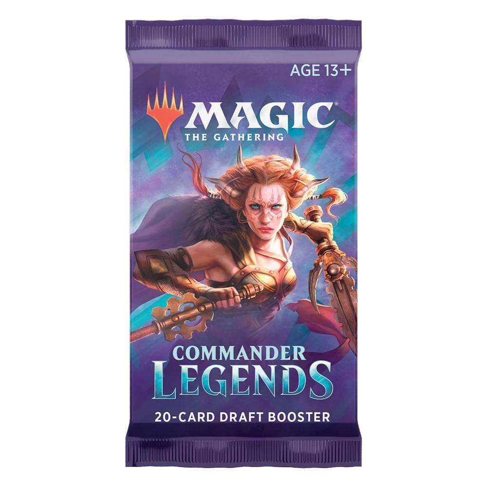 Magic the Gathering: Commander Legends Draft Booster Pack - The Haunted Game Cafe