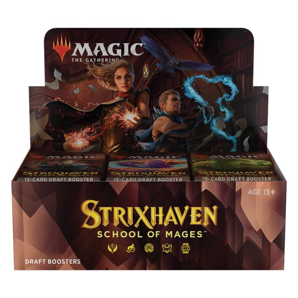 Magic the Gathering: Strixhaven DRAFT Booster Box (36) - The Haunted Game Cafe