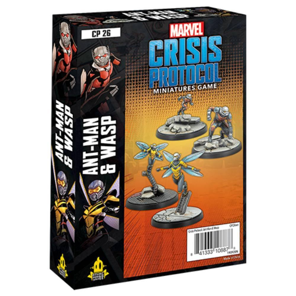 Marvel Crisis Protocol Ant Man & Wasp