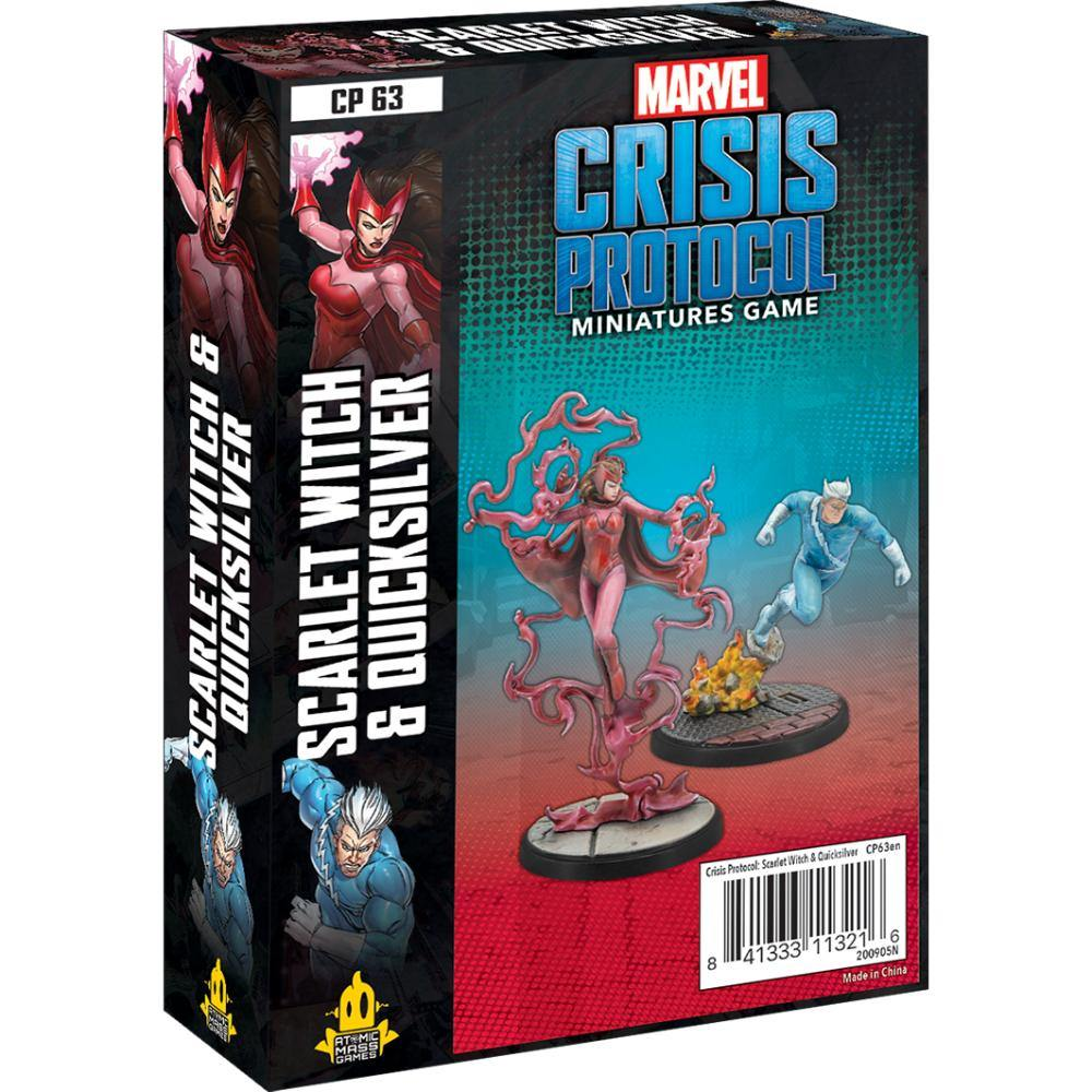 Marvel Crisis Protocol Scarlet Witch and Quicksilver - The Haunted Game Cafe
