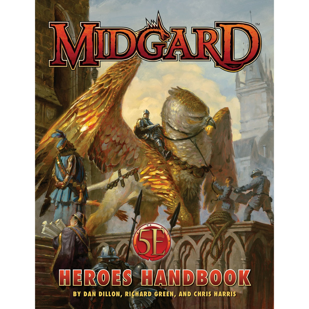 Midgard for 5th Edition Heroes Handbook (Hardcover)