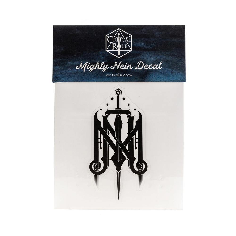Mighty Nein Crest Decal