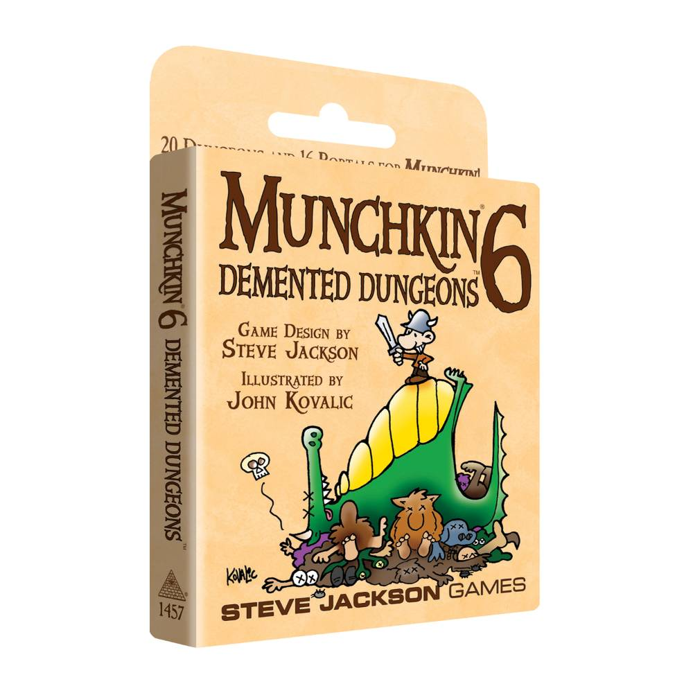 Munchkin 6 Demented Dungeons Expansion