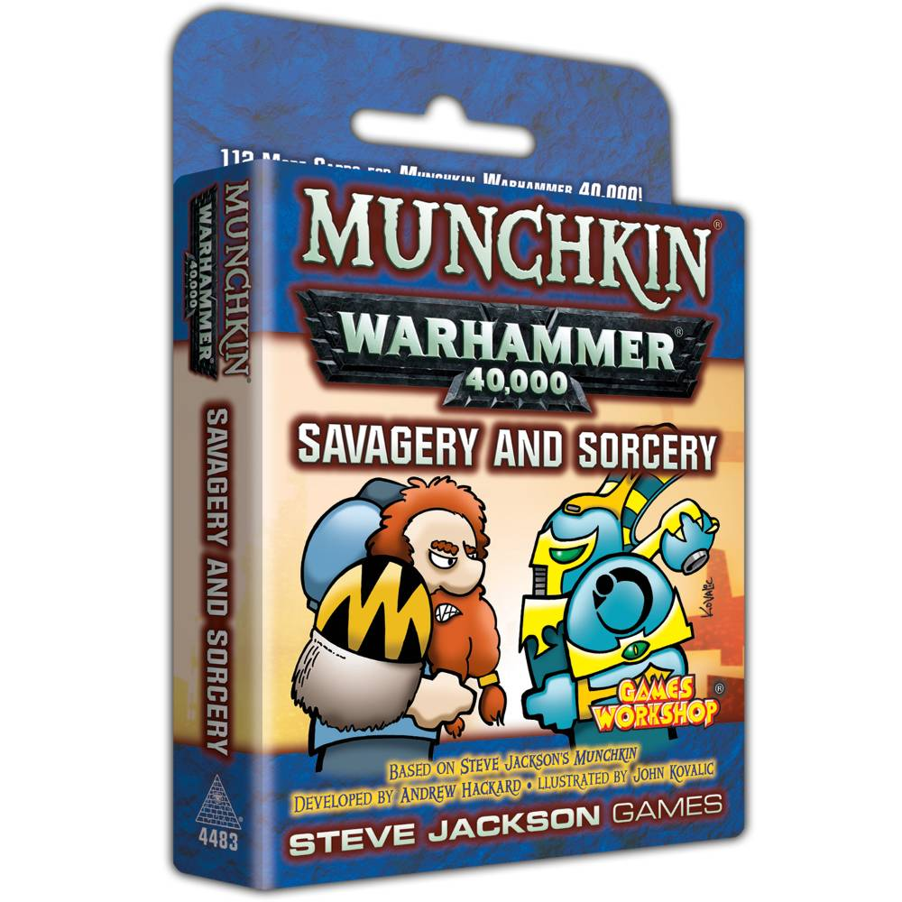 Munchkin Warhammer 40k Savagery and Sorcery Expansion