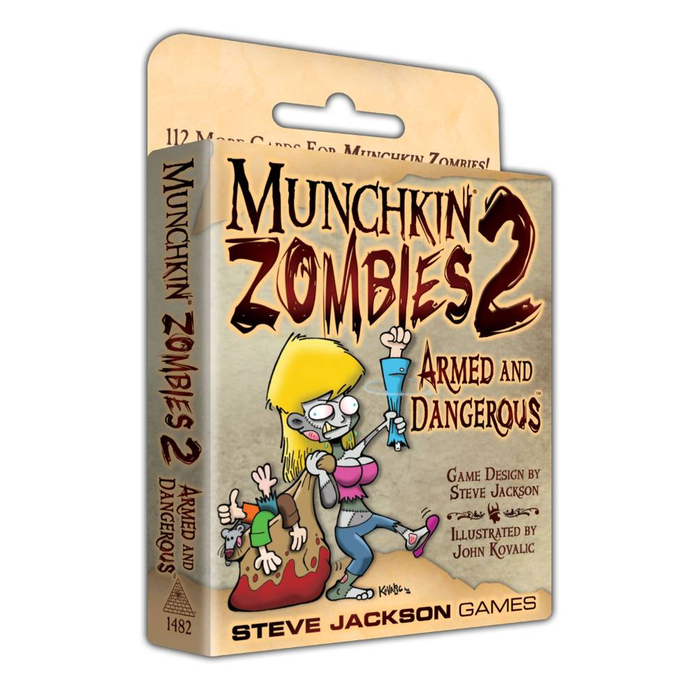 Munchkin Zombies 2 Armed and Dangerous Expansion