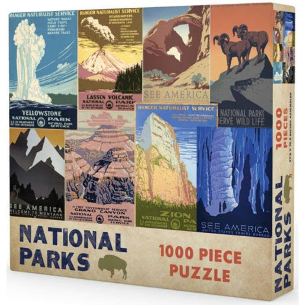 National Parks Puzzle - The Haunted Game Cafe