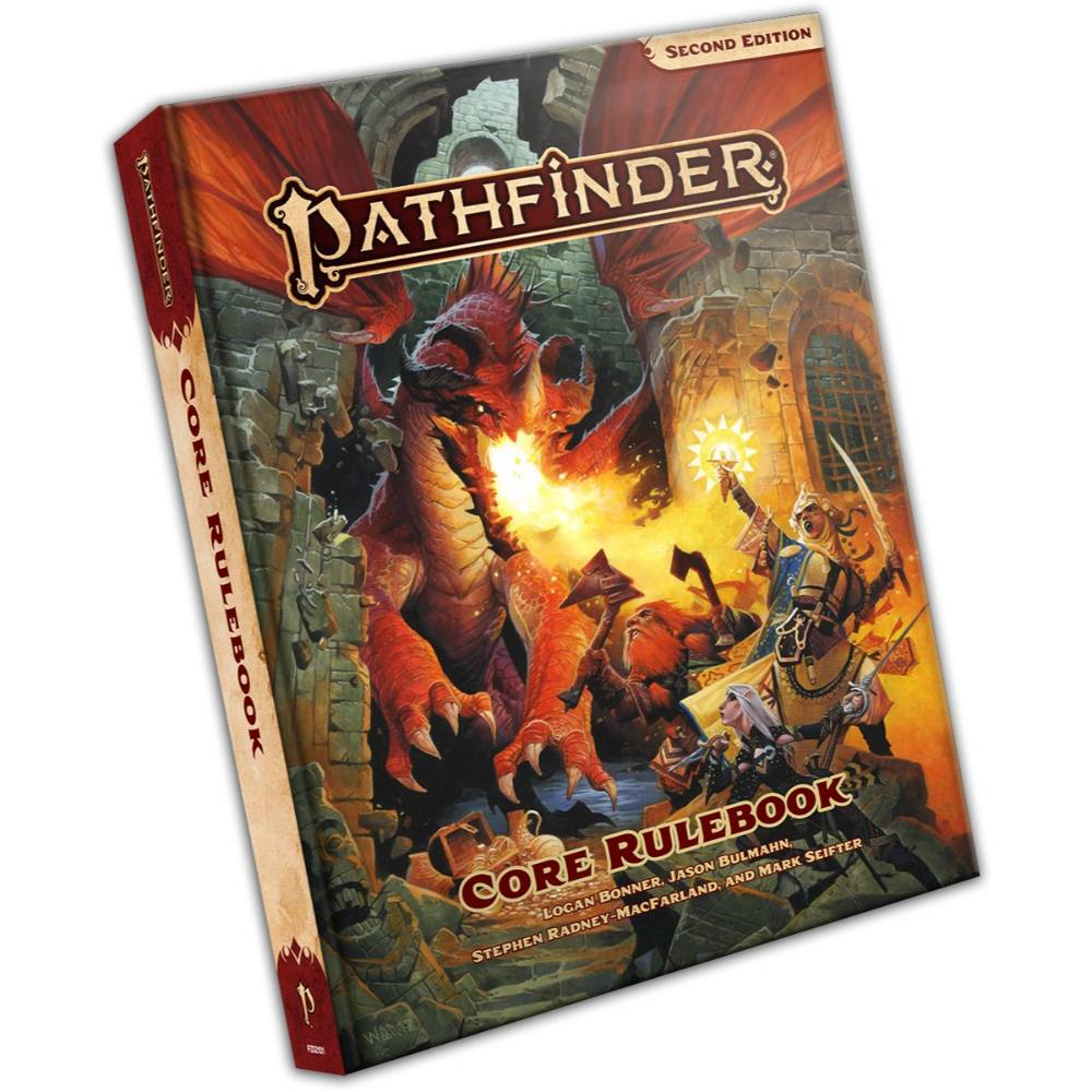 Pathfinder RPG Core Rulebook (Hardcover) Second Edition
