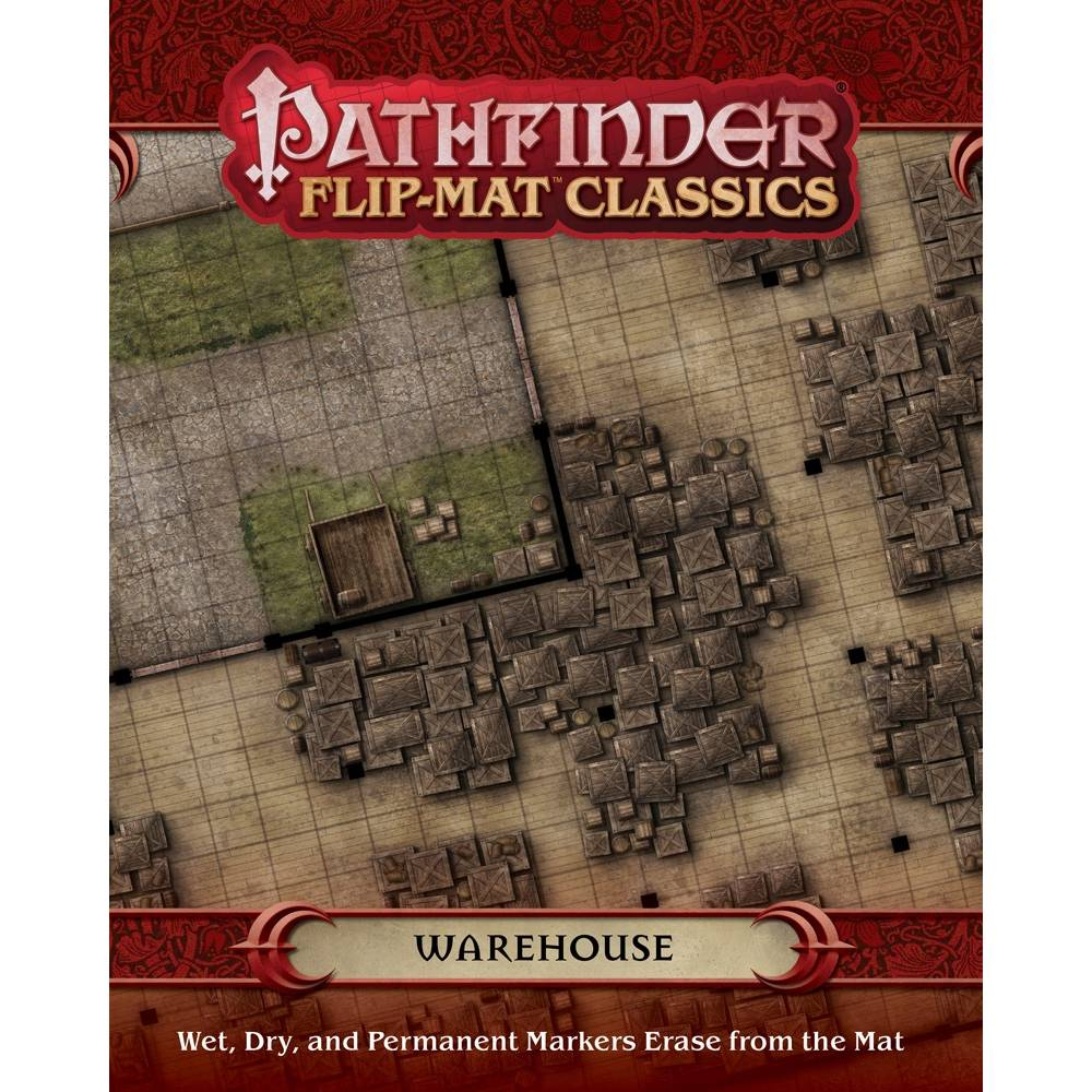 Pathfinder RPG Flip-Mat Classics - Warehouse