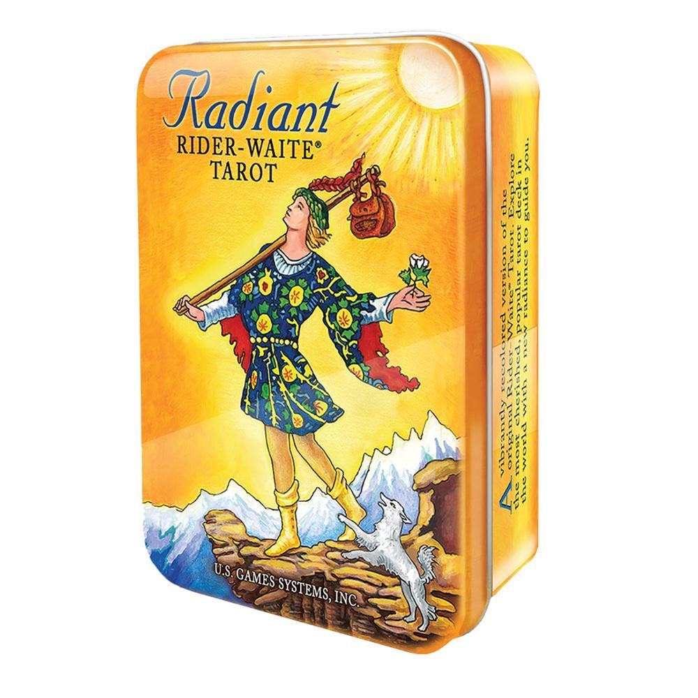 Radiant Rider-Waite Tarot in a Tin - The Haunted Game Cafe