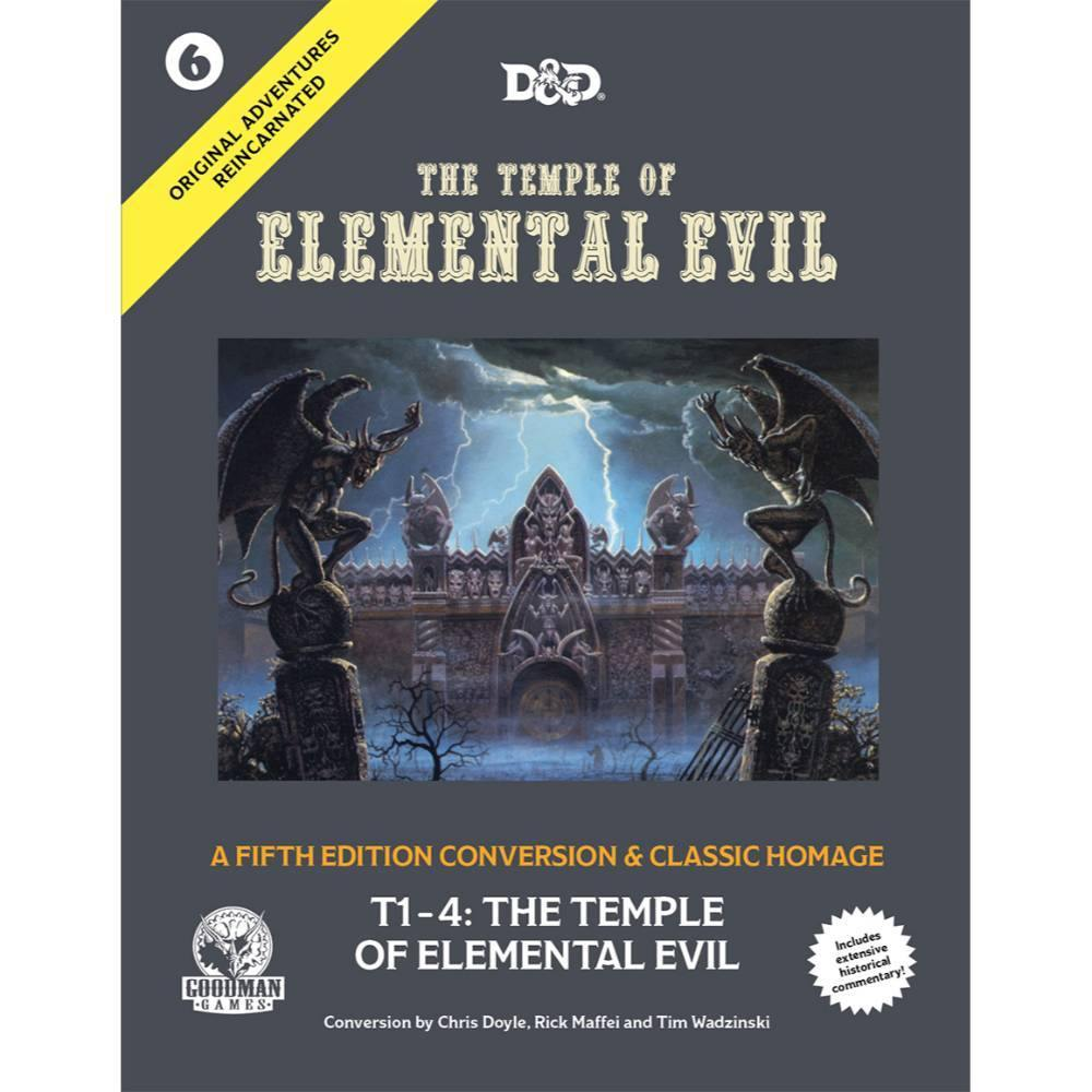 Original Adventures Reincarnated #6: The Temple of Elemental Evil - PREORDER