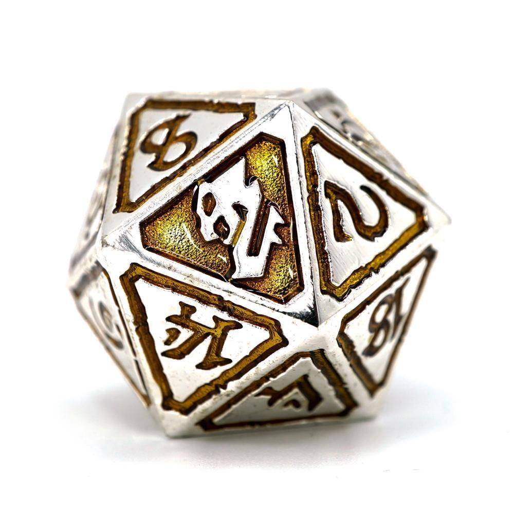 Usurpers of Gilded Ruin Metal Polyhedral Dice