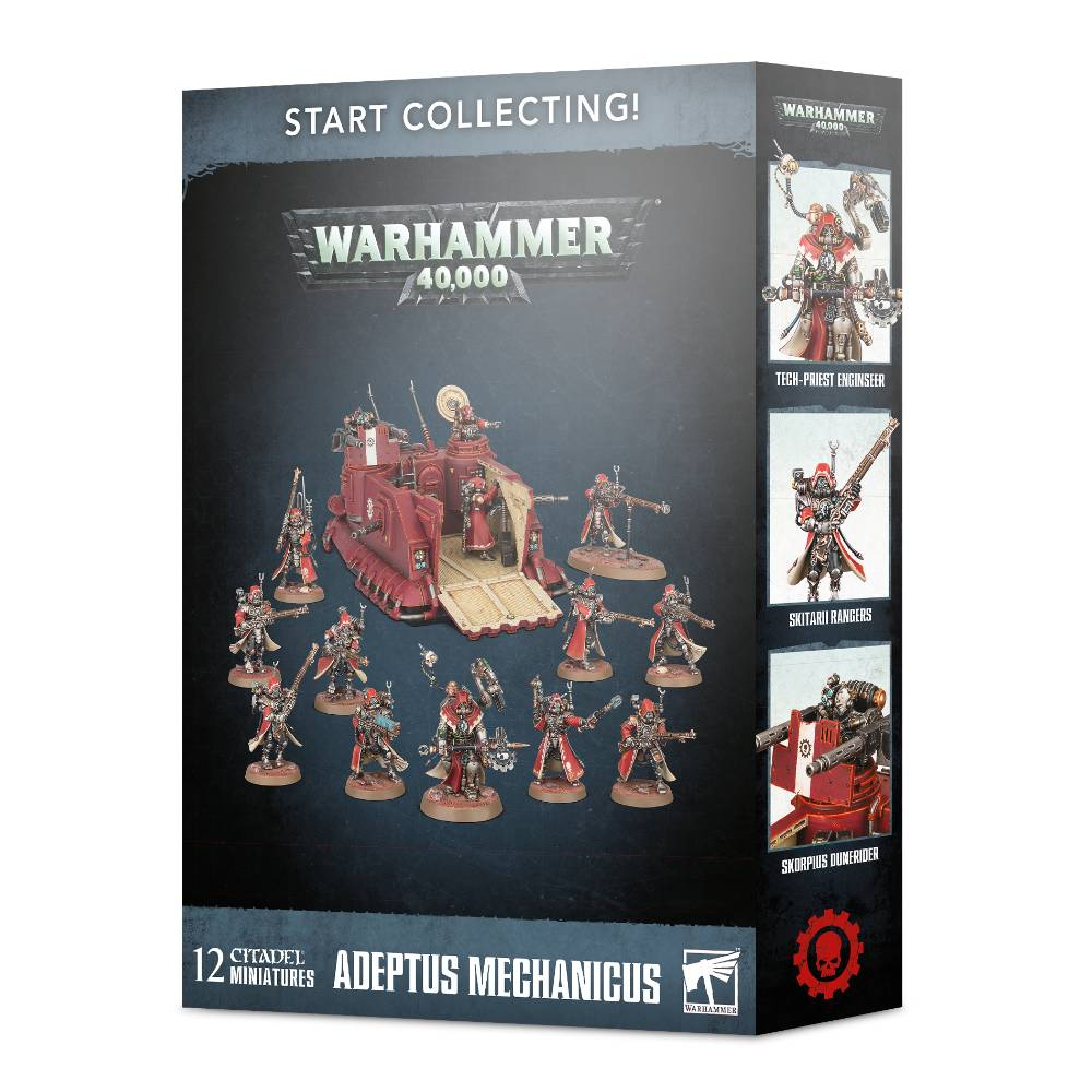 Warhammer 40,000 Adeptus Mechanicus Skitarii Start Collecting!